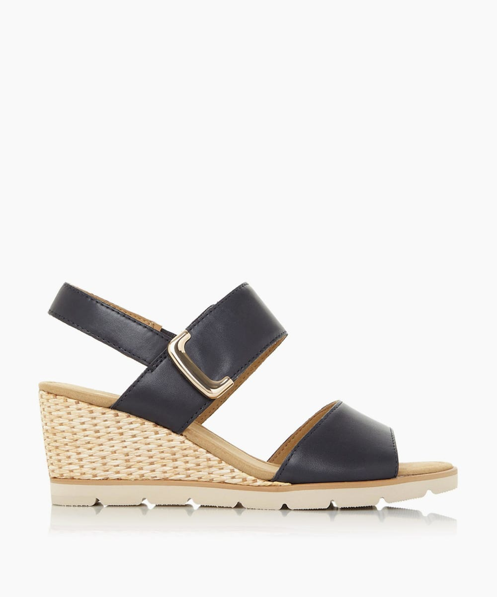 Mid Wedge Heel Sandals