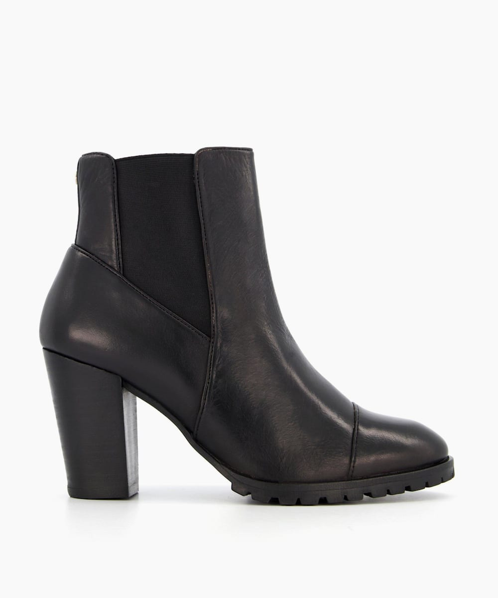 Heeled Chelsea Ankle Boots