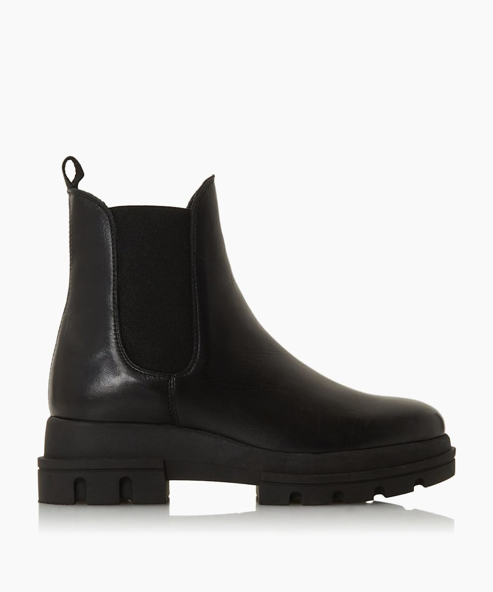 Chunky Outsole Chelsea Boots