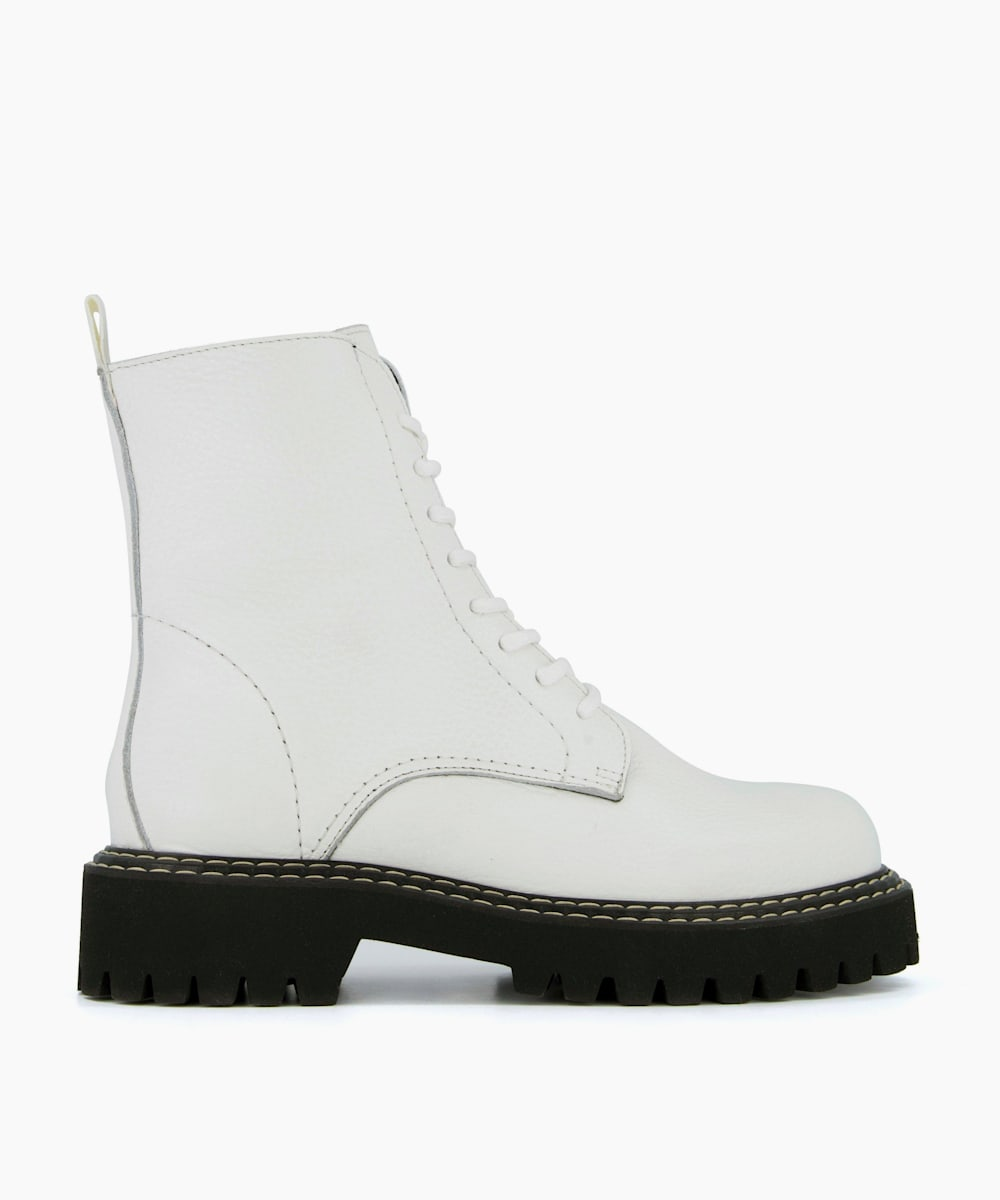 Cleated Sole Hiker Boots