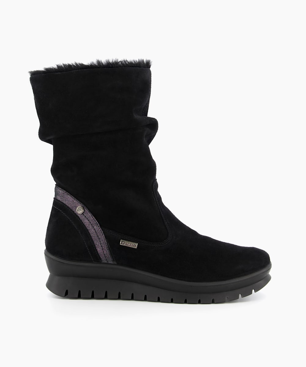 Water Resistant Faux Fur Boots