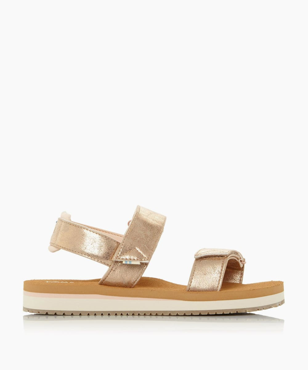 Double Strap Rip Tape Sandals