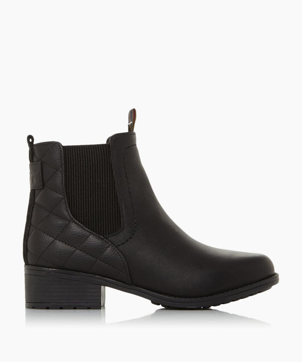 Quilted Chelsea Boots