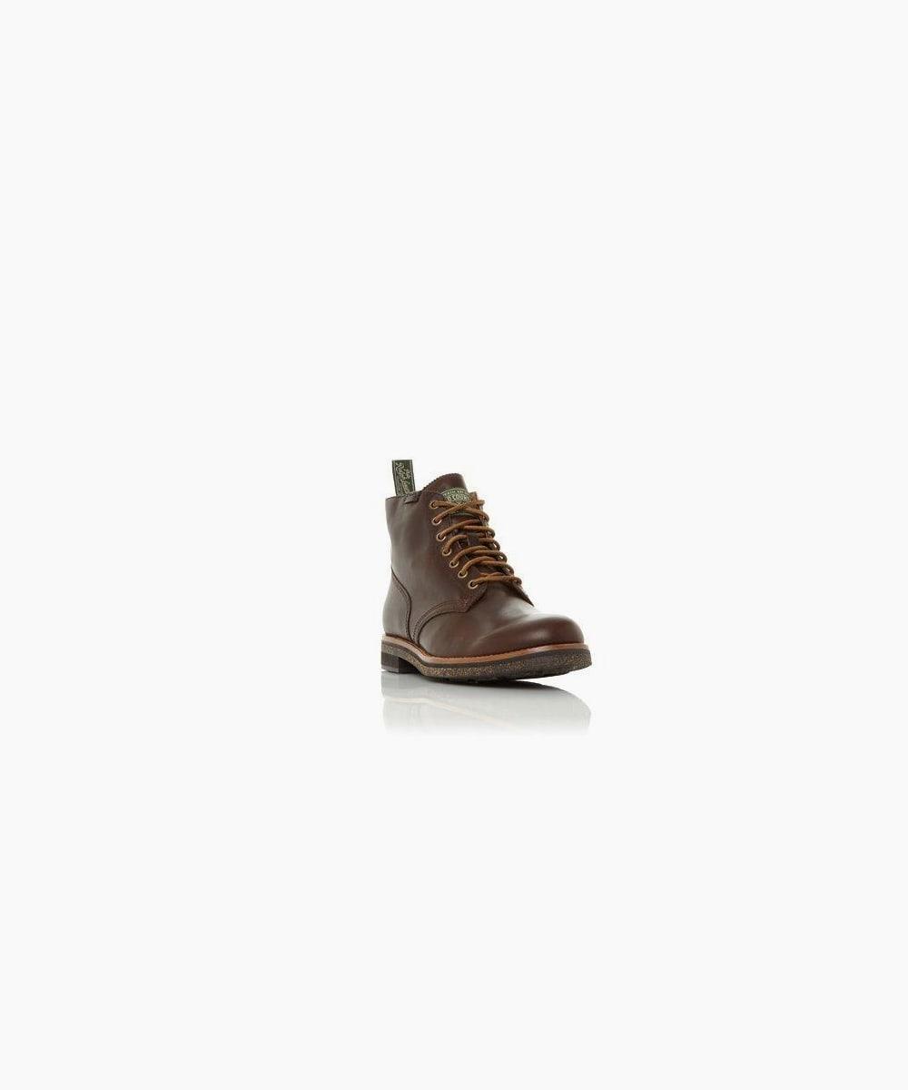 rl army boot - brown