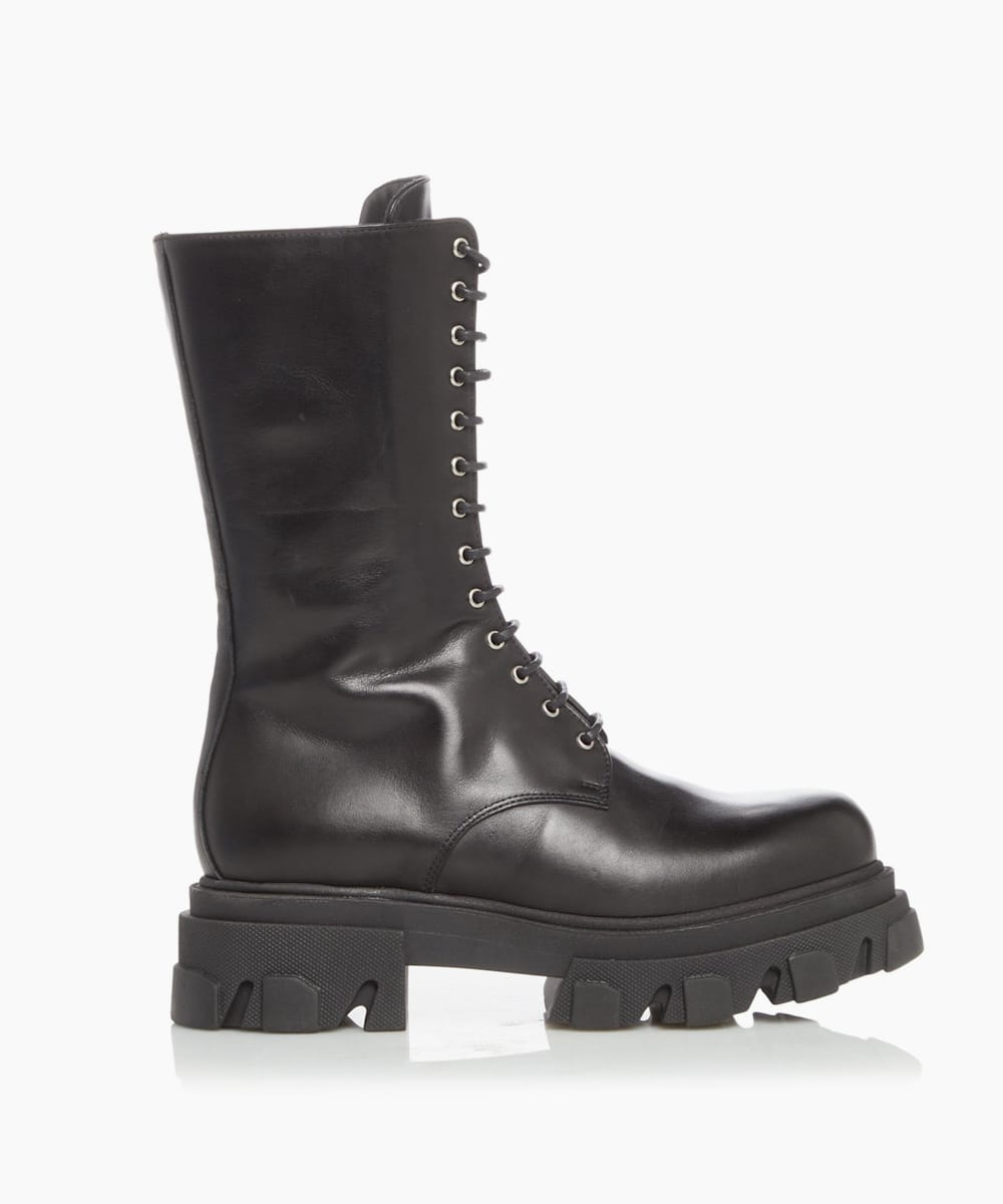 Extreme Sole Lace Up Boots