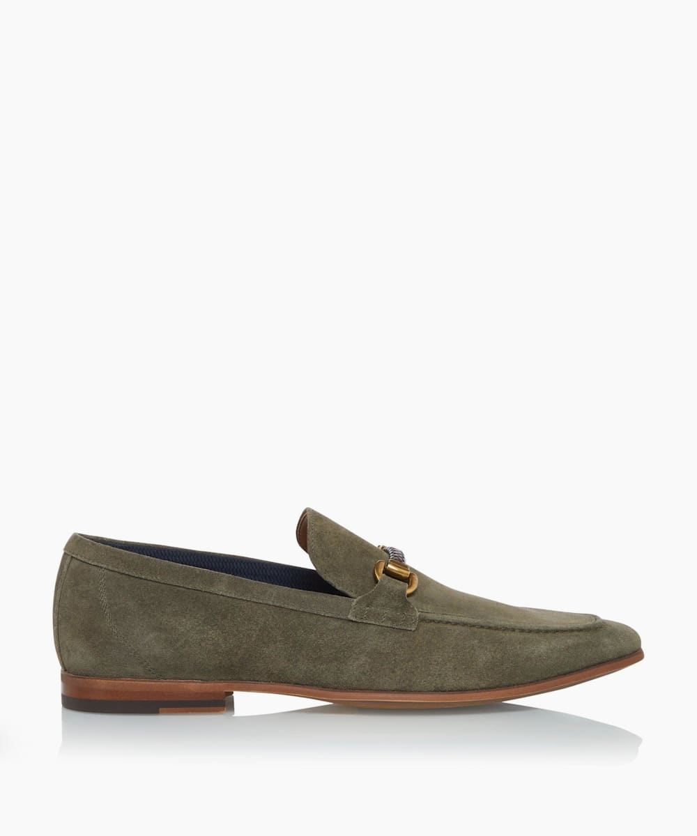 Woven Trim Loafers