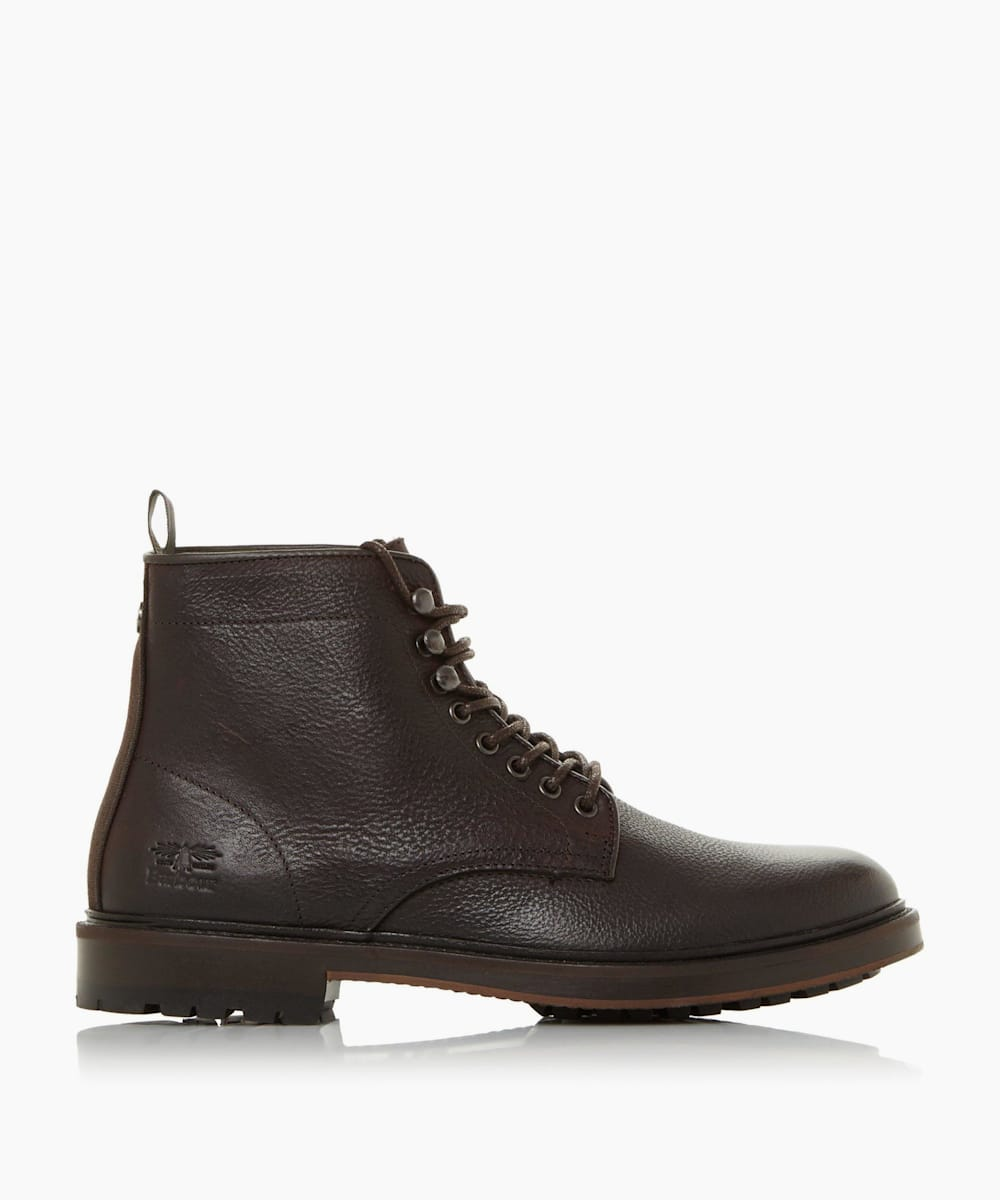 Lace Up Derby Boots