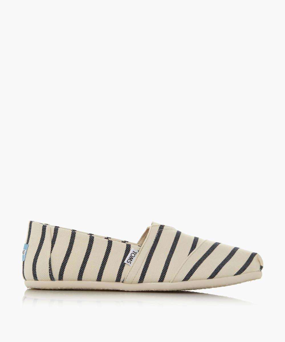 Slip On Canvas Espadrille Shoes