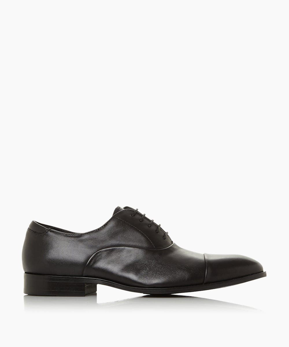 Round Toe Smart Oxford Shoes
