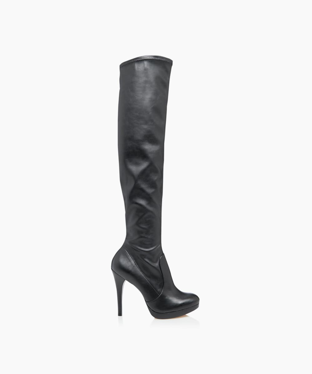 Over Knee Stretch Stiletto Heel Boots