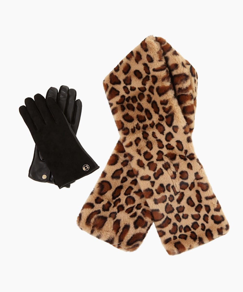 Scarf And Glove Gift Set