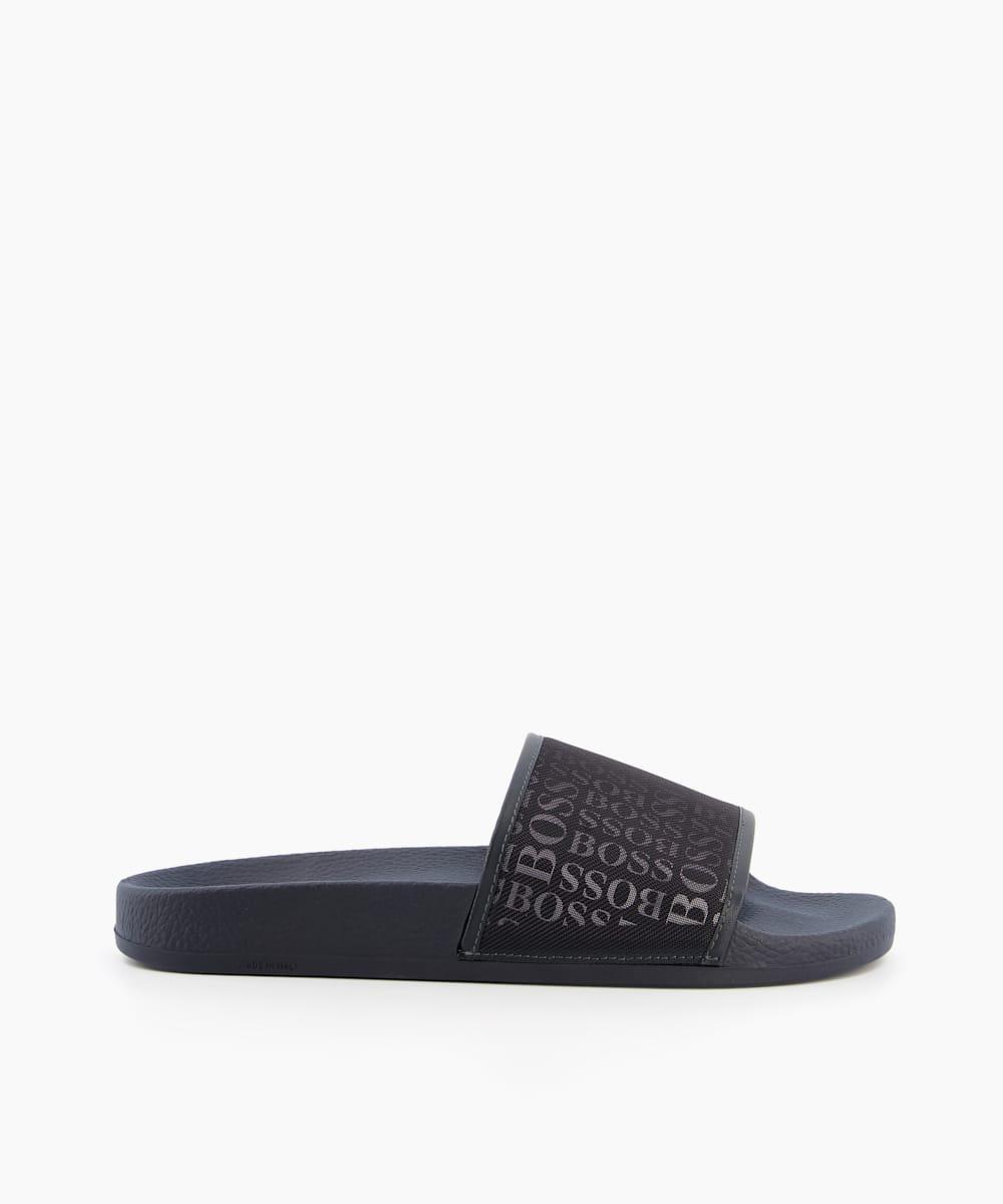 Logo Slider Sandals