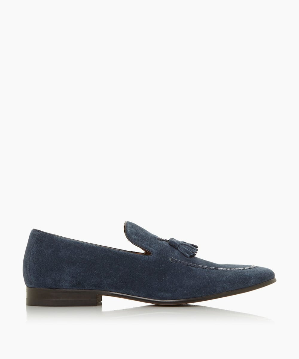 Plait Trim Tasseled Loafer