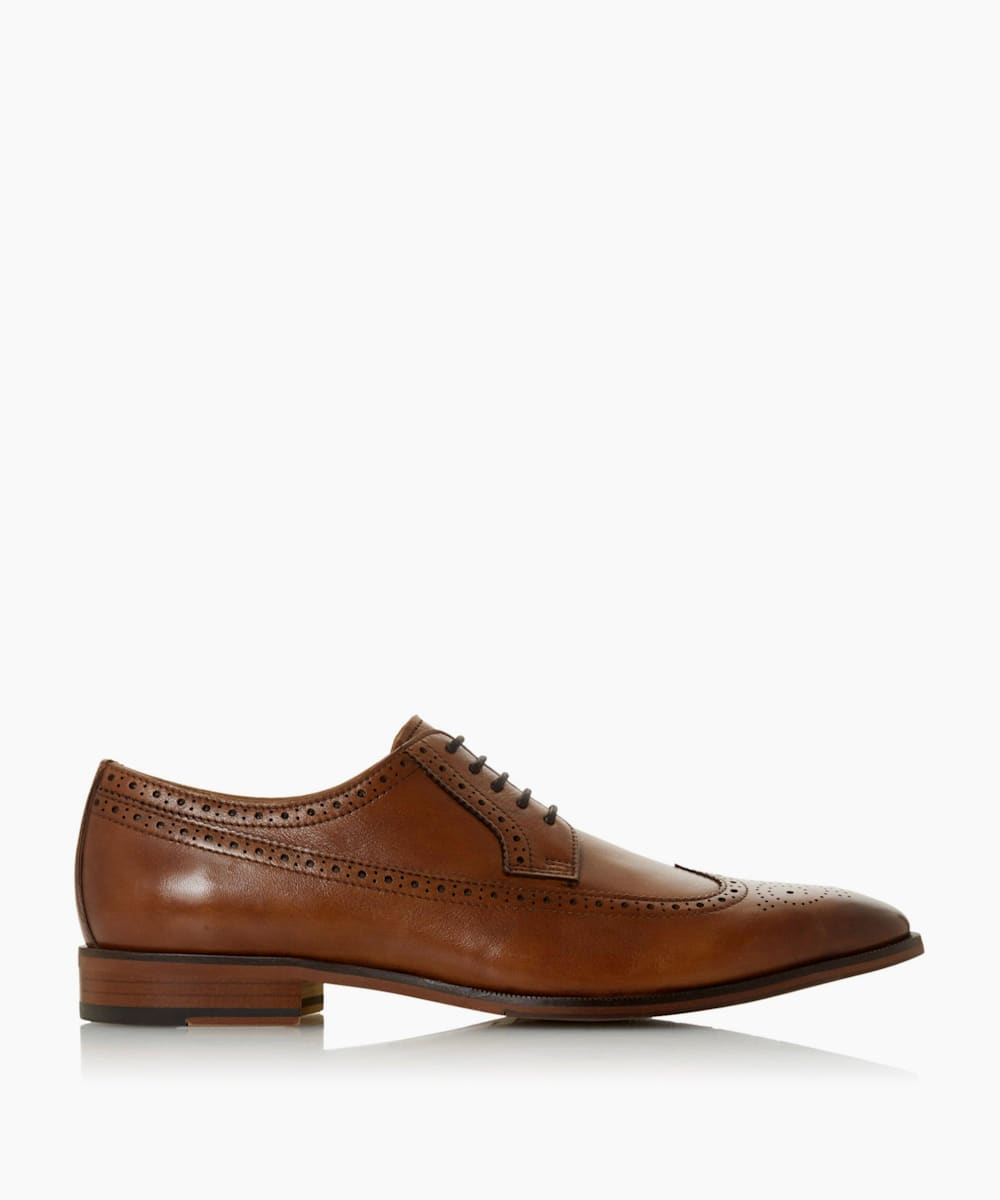 Contrast Sole Lace Up Brogue