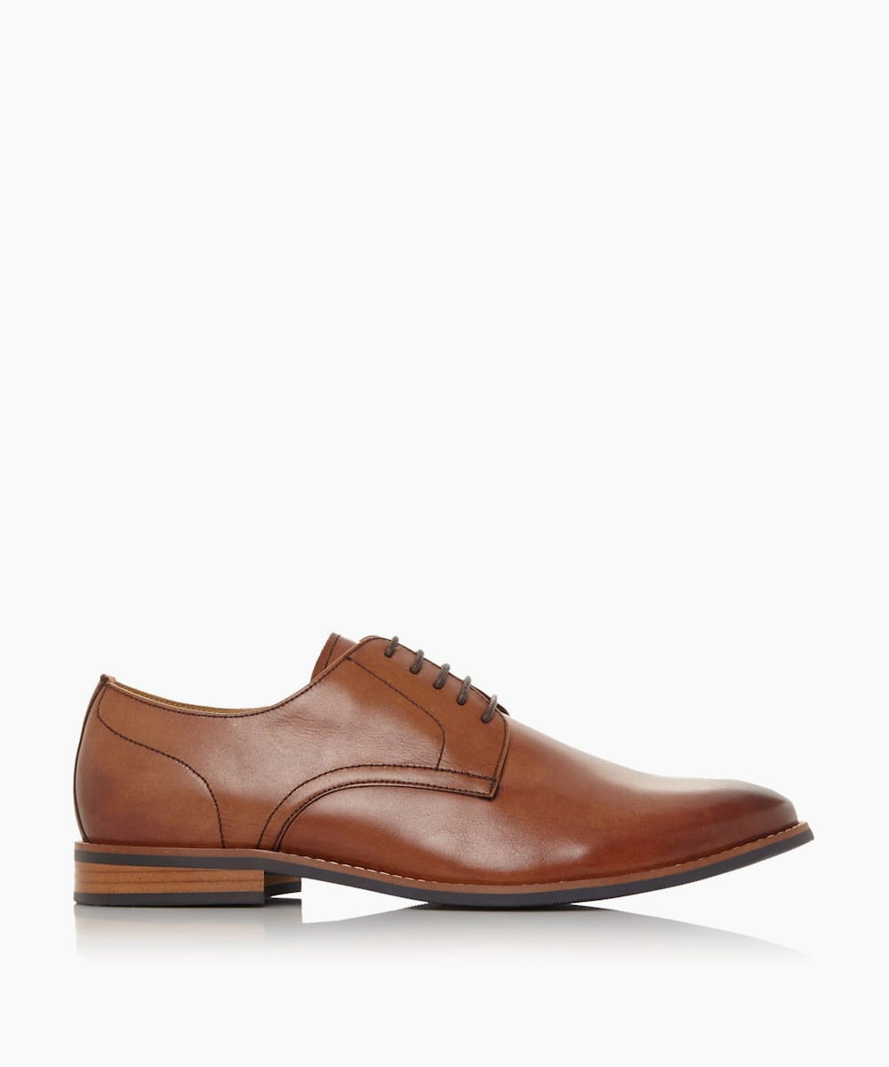 Leather Smart Gibson Shoes