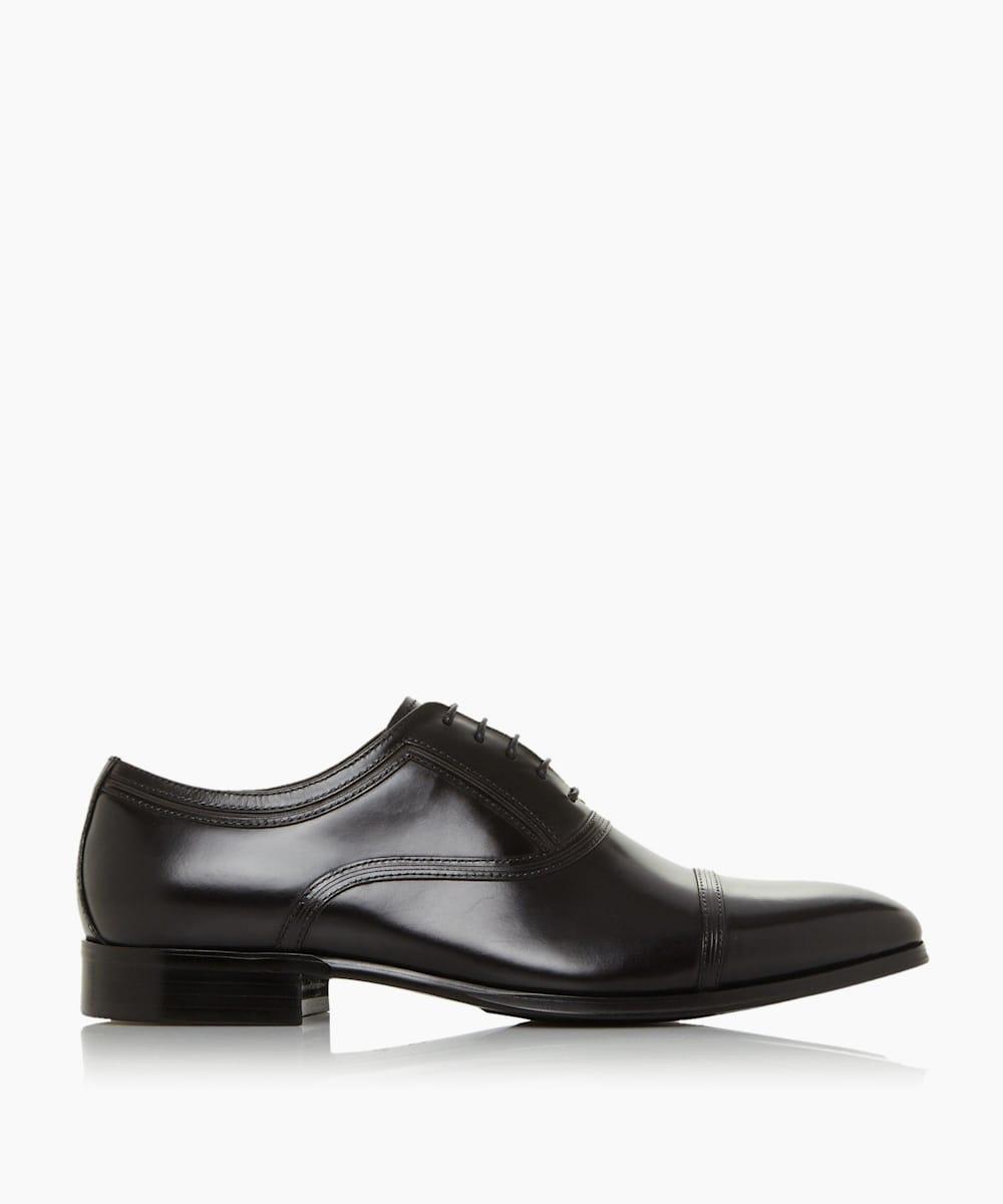 Toe Cap Stitch Detail Formal Shoes