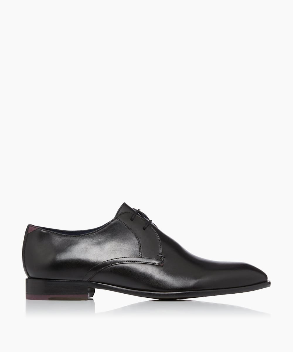 Plain Toe Derby Shoes