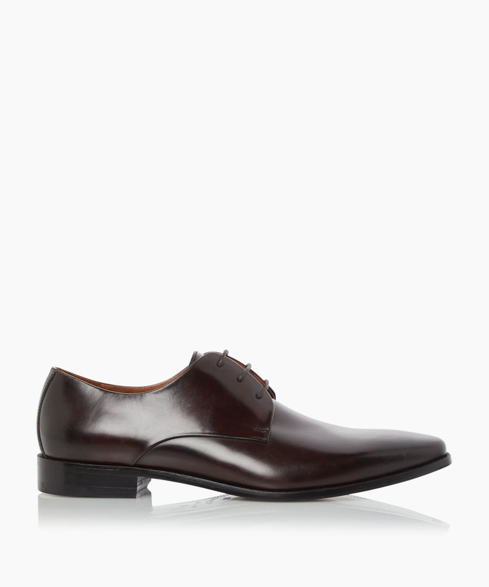 Smart Leather Sole Derby Shoes