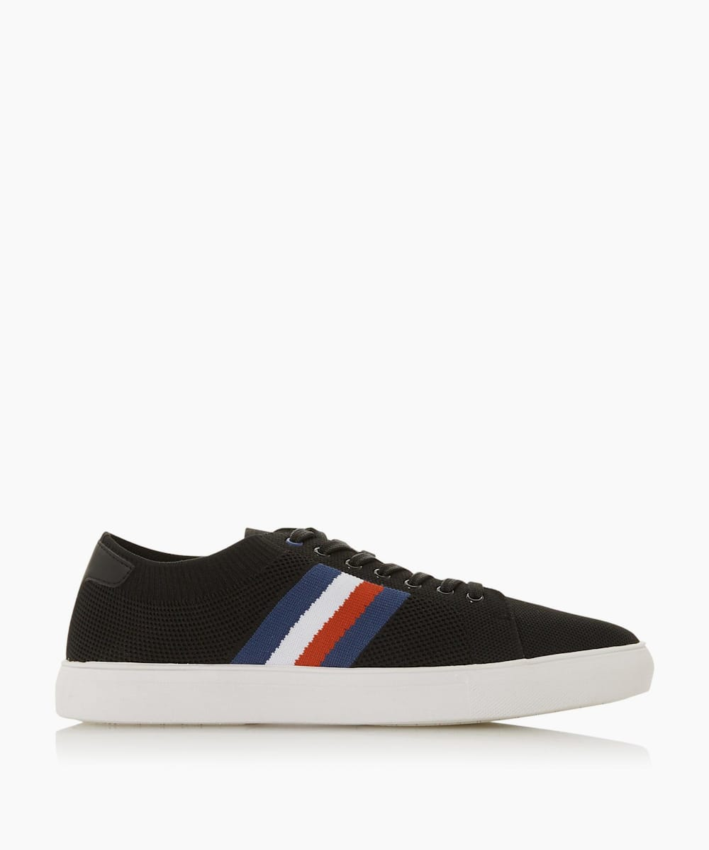 Knitted Stripe Trainers