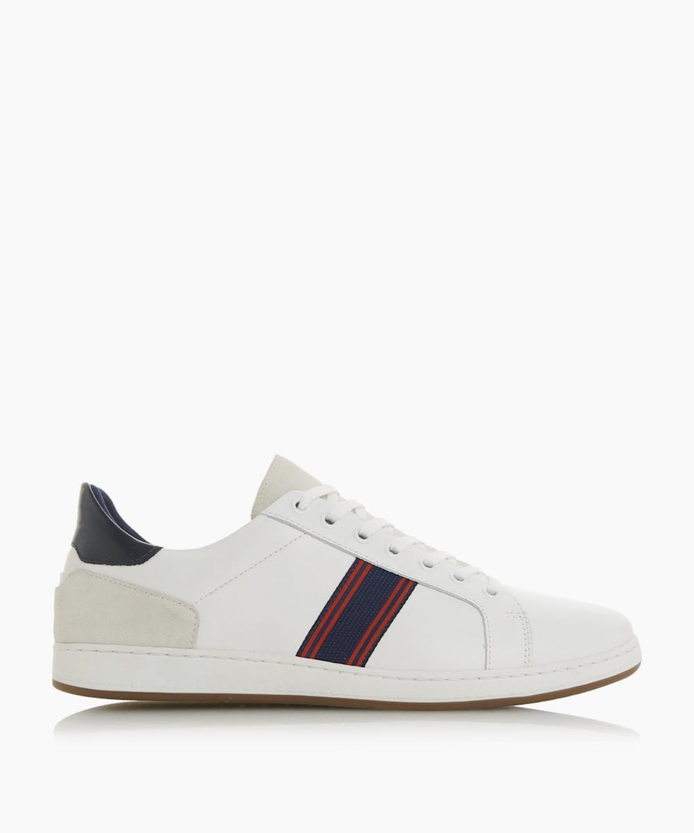 Embroidered Stripe Trainers