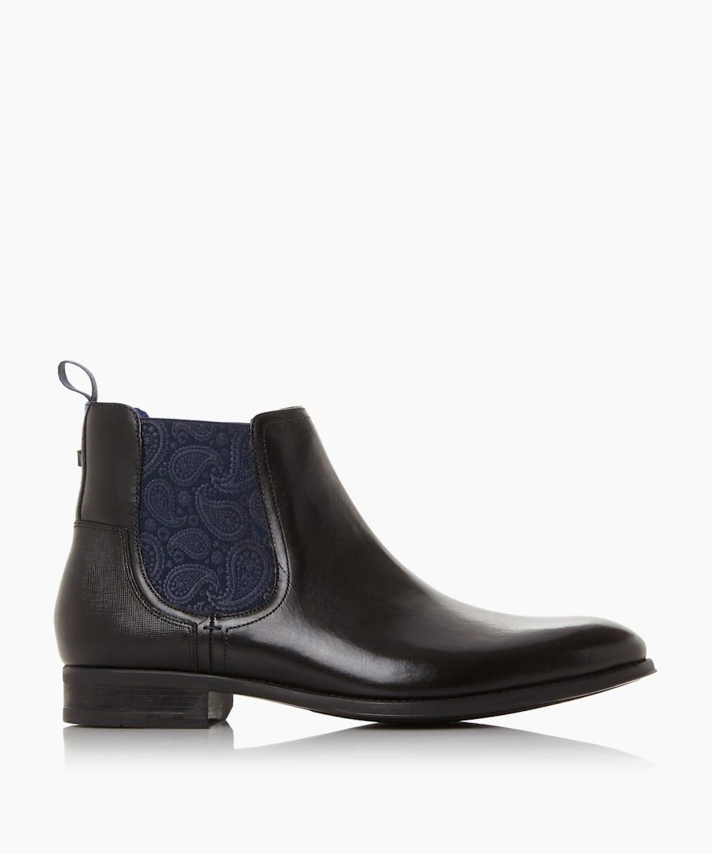 Paisley Chelsea Boots