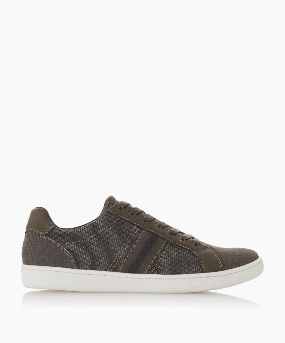 Stripe Detail Lace Trainers