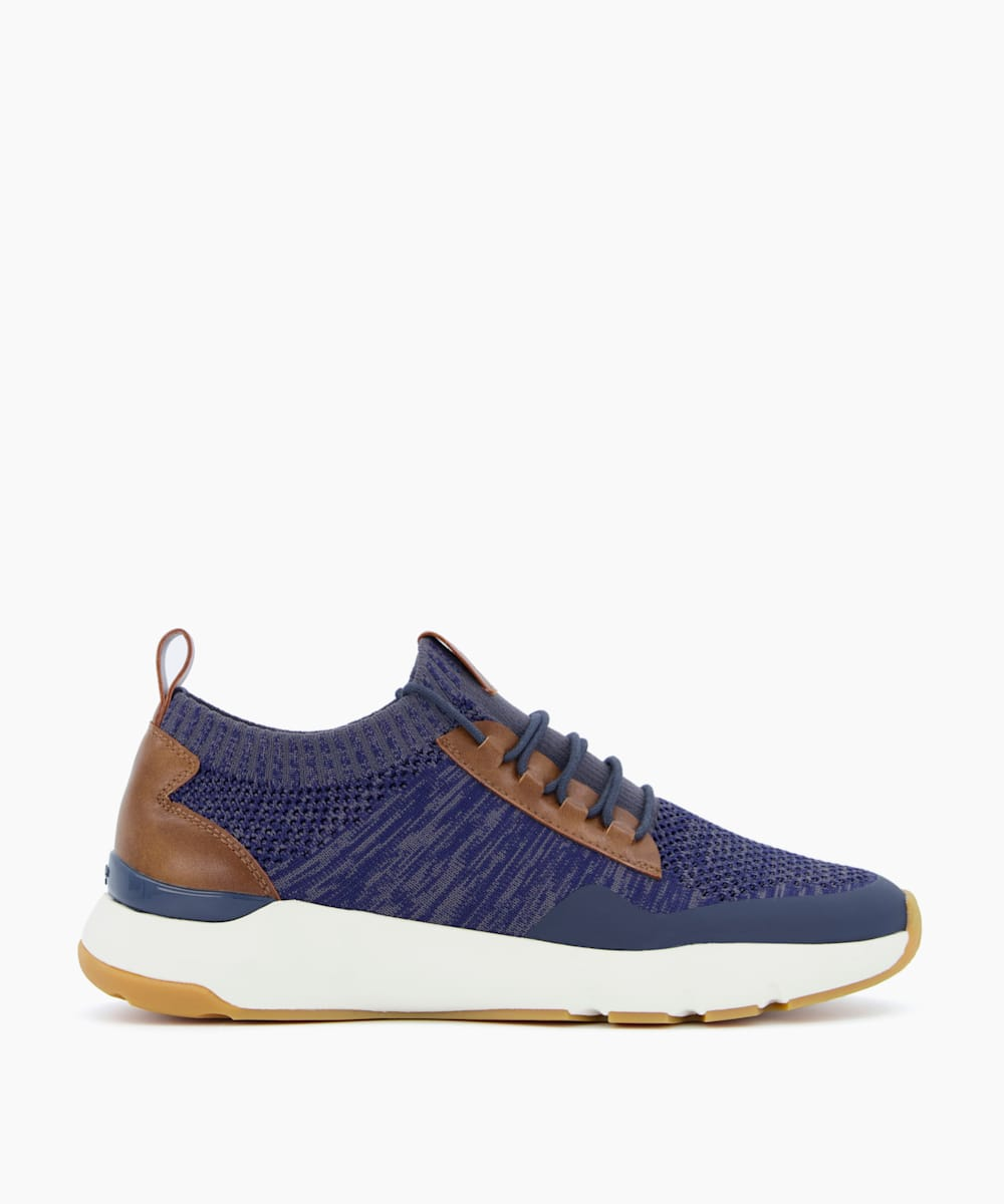 Stretch Knit Chunky Sole Trainers