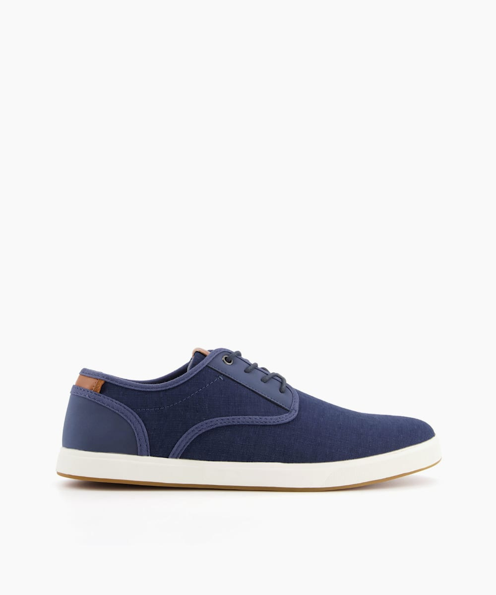 TREYY - Lace Up Fabric Trainers