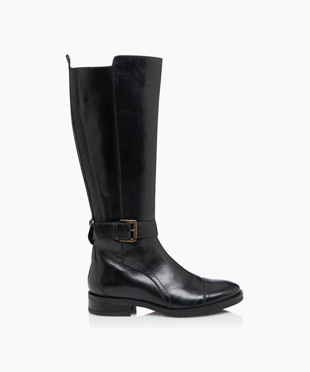 Knee High Zip Up Boots