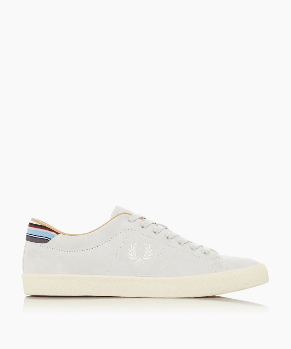 Contrast Panel Lace Up Trainers