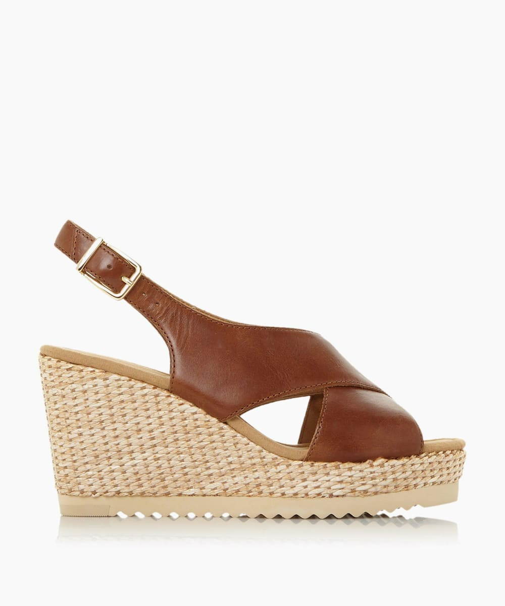 Mid Wedge Heel Sandals