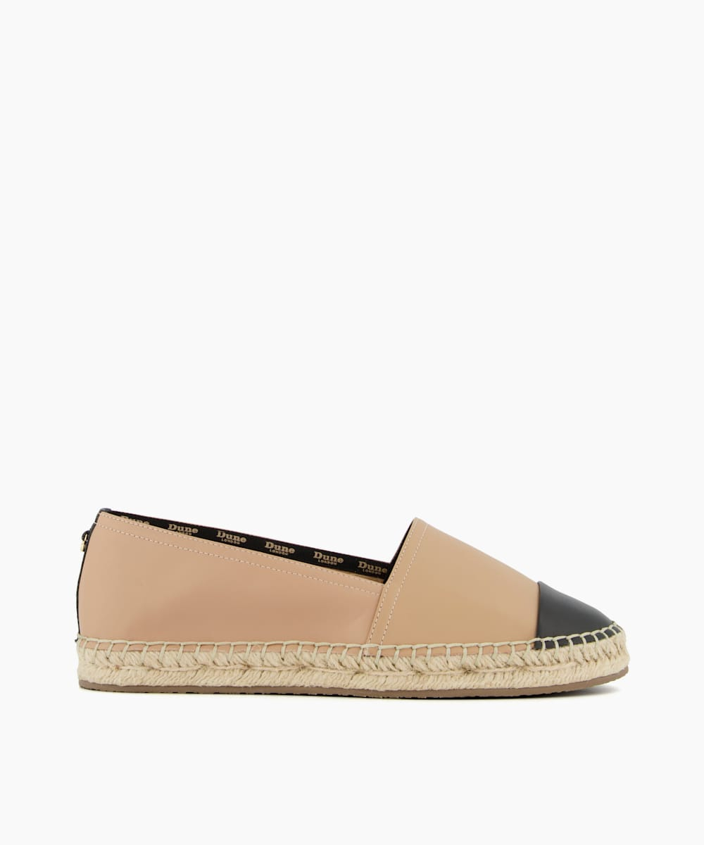 Wide Fit Toe Cap Espadrilles