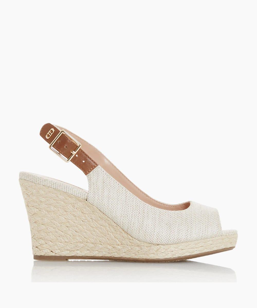 Wide Fit Wedge Heel Sandals