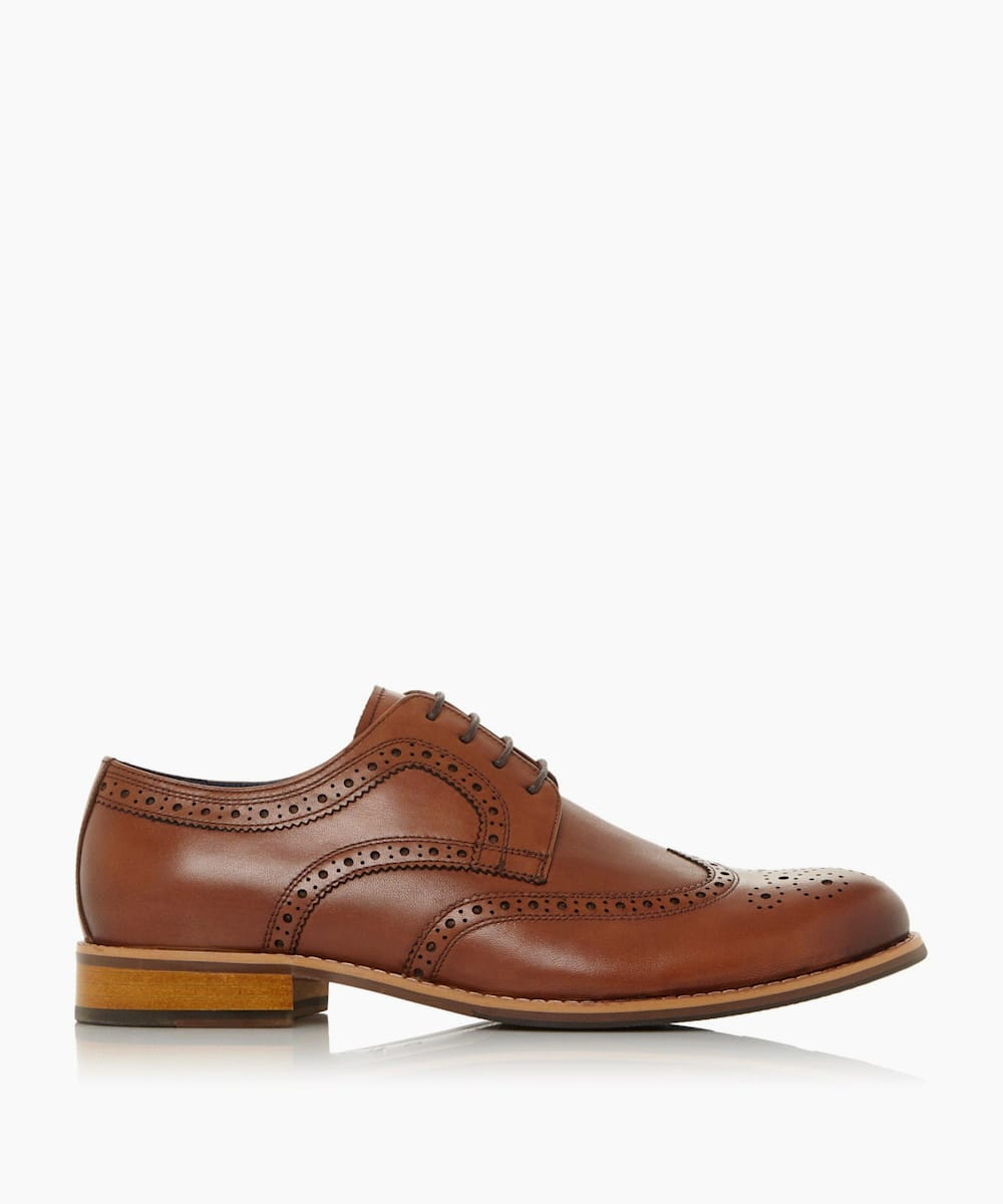 Wide Fit Lace Up Brogue