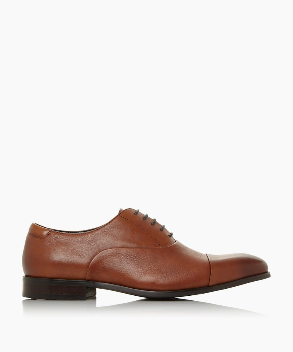 Wide Fit Smart Oxford Shoes