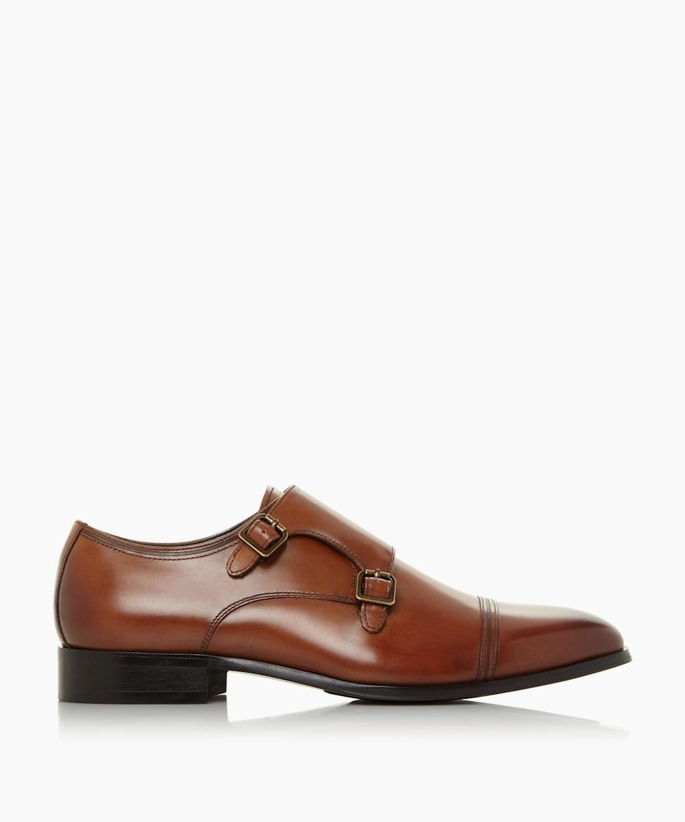 Wide Fit Monk Shoes