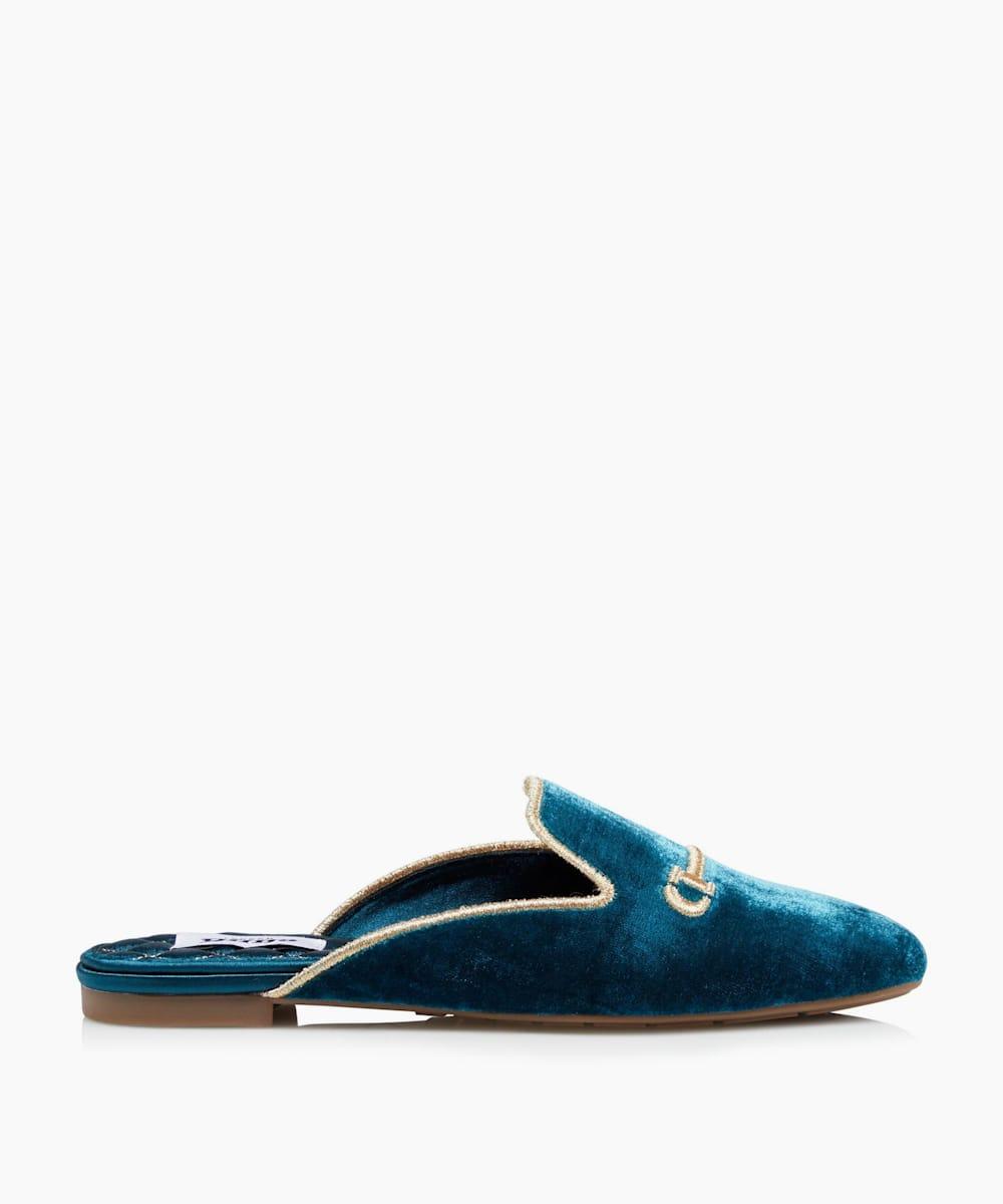 Slide-On Slipper Mules
